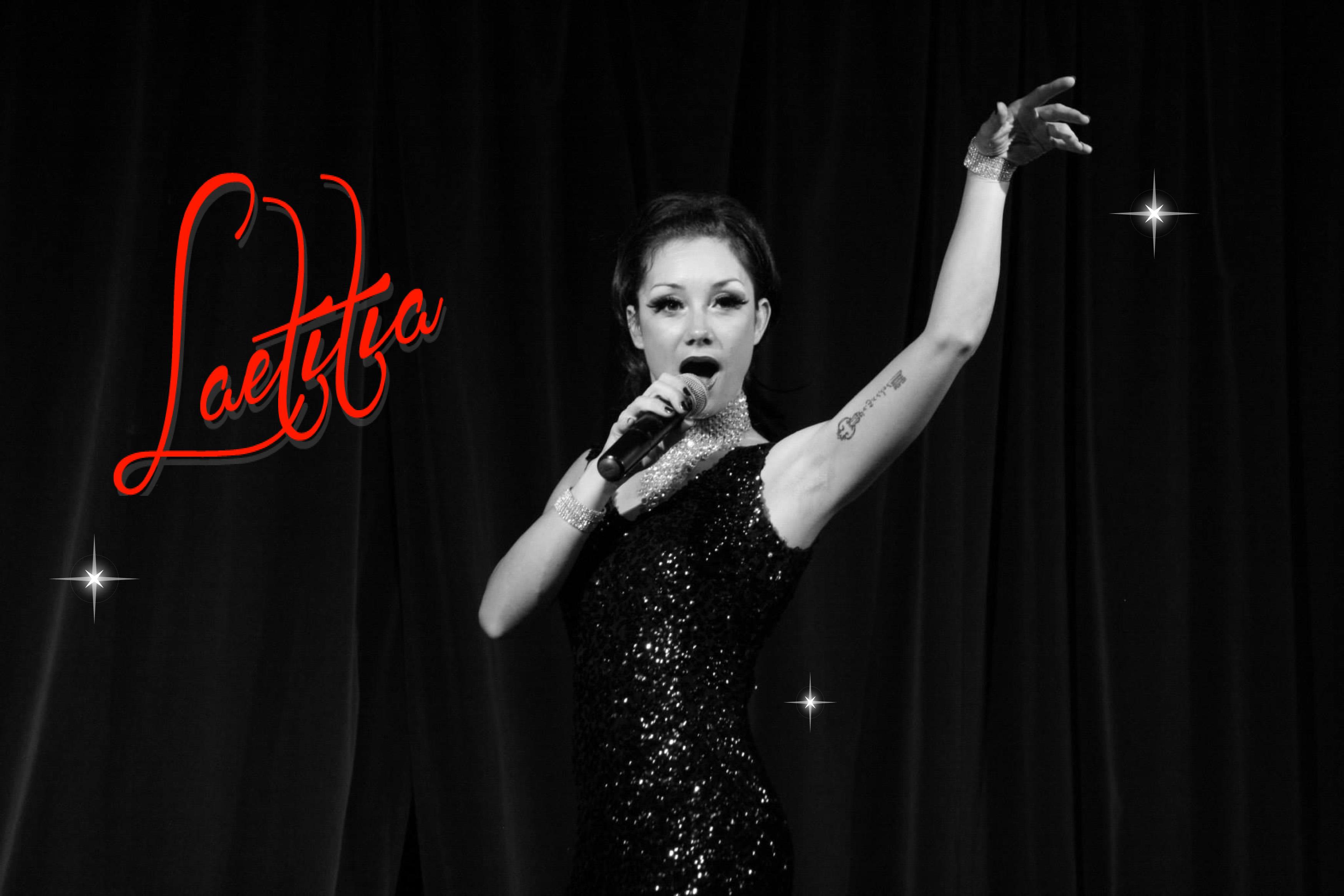 Laetitia chante …  Logo